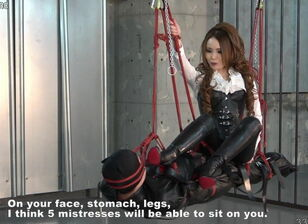 Japanese dominatrix