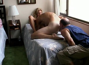 Licking wifes asshole